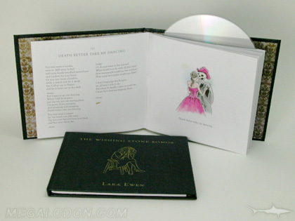 cd book limited eddition swinging sleeve inner pages