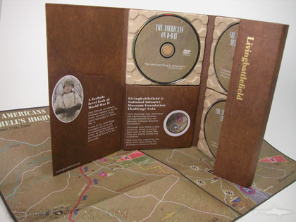 3dvd set custom multidisc packaging with die cuts