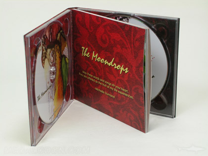 Double cd set two disc digipak book style inner pages