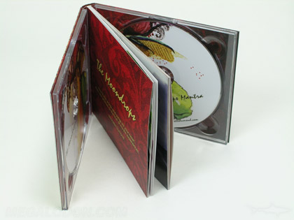 2CD Book digipack inner pages uncoated stock