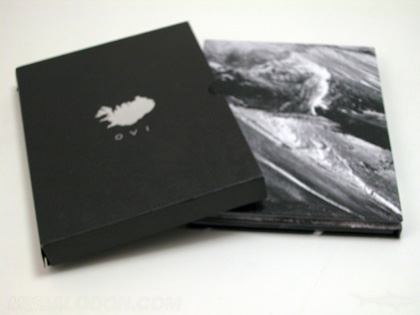 2 dvd Set trifold Packaging two  trays slipcase rich black printing foil