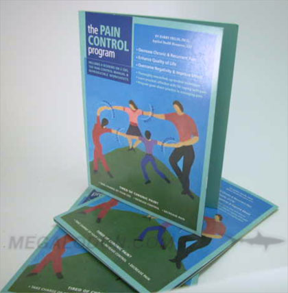 Tall CD Folder workbook 2 discs cd dvd
