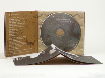 Paper Tray CD Packaging 100% Recycled Paper Cork Hub