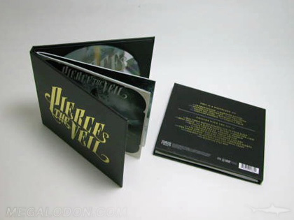 CD Book Packaging 2 disc hubs