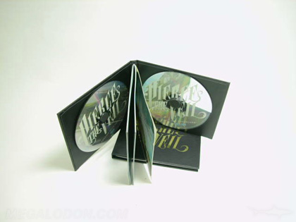 2cd book double disc book hard cover hardbound