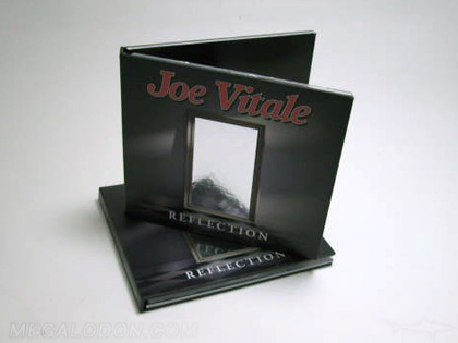 cd book packaging silver foiling