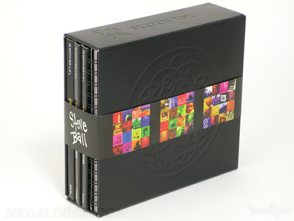 Leatherette Chipboard cd dvd Box Set Collection