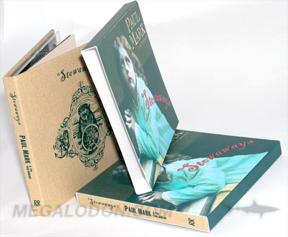 Slipcase for cd book dvd book tube style full color
