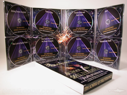Multi CD DVD replication package for ministries for christians