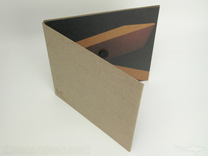 fiberboard paper packaging cd dvd foam hub magnet closure