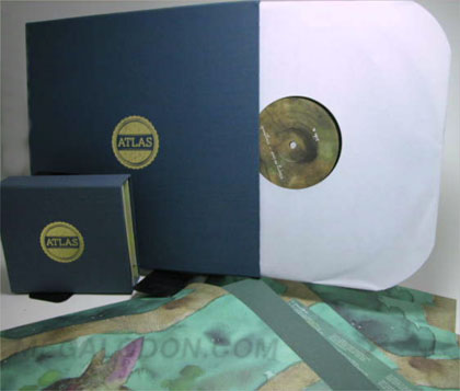 Linen Wrapped Vinyl Box Set Record cover cloth over chipboard