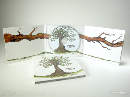 Recycled Eco Friendly CD DVD packaging