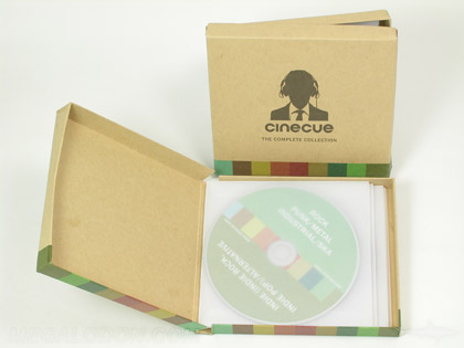 multi cd box set chipboard box with lid multidisc packaging cd or dvd