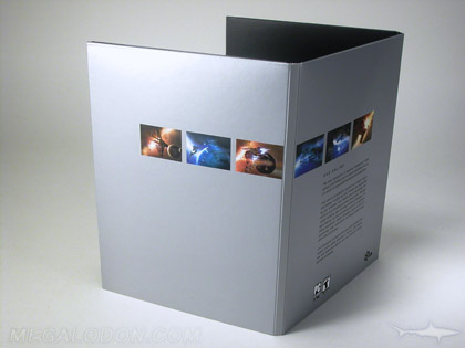 silver flood digipak cd dvd packaging
