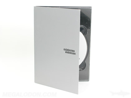metallink ink flood on tall digipak