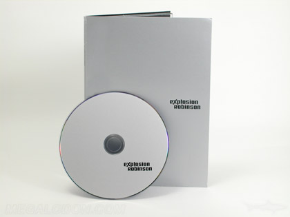 silver metallic flood on tall dvd packaging