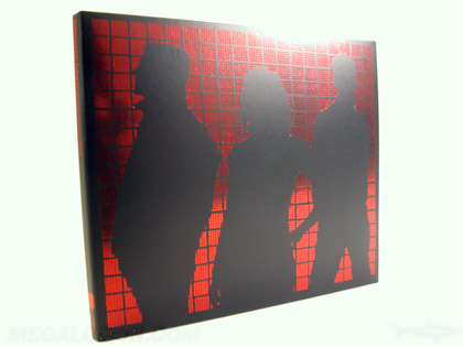 red foil on cd packaging 4pp digipak