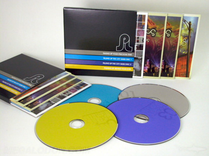 slipcase 4cd set