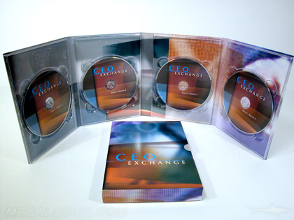 Multiple CD Replication - 4 Disc Set, With Slipcase