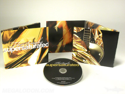 gold metallic ink on cd packaging 6pp digipak