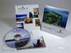 4pp Wallet, , half moon pocket , vertical fold - Basin Harbor tourism cd