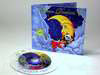 Clear substrate cd with jacket, children's bedtime songs