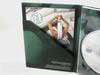 Photo of dvd in 4pp tall digipak packaging, diagonal pocket for booklet