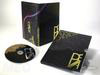 photo of slipcase, disc, digipack, special printing effects, gold foil