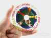 Photo of award winning clear substrate cd, international